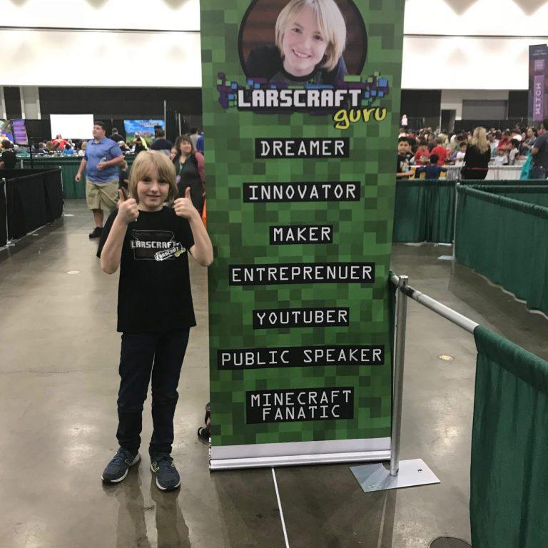 Larscraft Guru LA Minefaire 2018